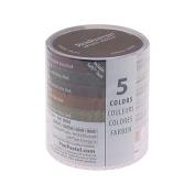 Armadillo Art & Craft PanPastel 9-Millilitre Ultra Soft Artist Pastel Set, Earthtones, 5-Pack