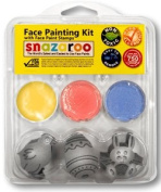 Snazaroo Easter Stamp Face Painting Kit Bunny, Egg, Chick