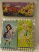 Disney Fairies 6 Mini Spiral Notebooks