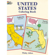 Dover Publications-United States Colouring Book