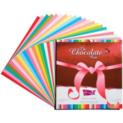 Core'dinations Chocolate Box Cardstock Pad 30cm x 30cm 20/Pkg-