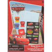 Disney Pixar The World of CARS stamp activity set