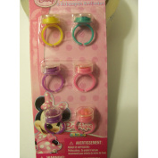 Disney Minnie Mouse Bow-tique Ring Stamps ~ Set of 6