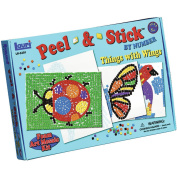 Peel & Stick by Numbers Things with Wings