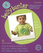 Belly Banter HOLIDAYS Onesie Stickers-15 Stickers in a set
