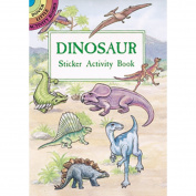 Dover Publications-Dinosaur Sticker Activity Book