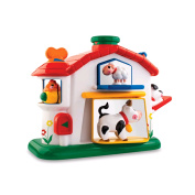 Tolo Toys - Pop Up Farm House - Baby Activity Toy