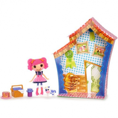 Lalaloopsy Mini Figure With Accessories Tippy Tumblelina By Mga Shop Online For Toys In