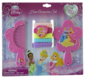 Disney Princess 7pc Hair Accessory Set - Disney Princess Vanity Set - Princess Hair Set