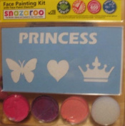 Snazaroo Princess Heart Butterfly Face Paint Kit with Stencils