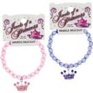 Princess Jewel Tiara Bead Bracelet Party Favour