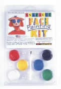 Snazaroo Face Painting Products P-10015 6 colour SPORTS CLAM PACK Snaza