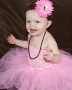 Basic Ballet Pink 3-Layered Tutu Girls 3-8. Select color