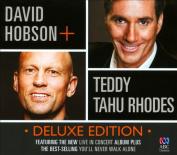 David Hobson + Teddy Tahu Rhodes