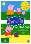 Peppa Pig: Piggy Back Pack 2  [2 Discs] [Region 4]