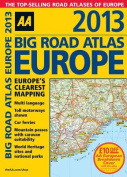 AA Big Road Atlas Europe: 2013