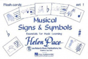 Musical Signs and Symbols Set I 24 Cards 48 Sides Flash Cards Moppet