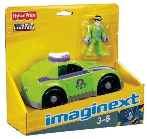 Imaginext Batman & Riddler Bi Plane With Raft Joker ... |Imaginext Riddler