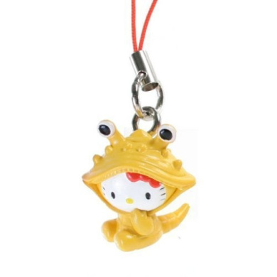 Hello Kitty as Kanegon the Yellow Ultraman Monster: Hello Kitty X Ultraman Charm Series (Japanese Import)