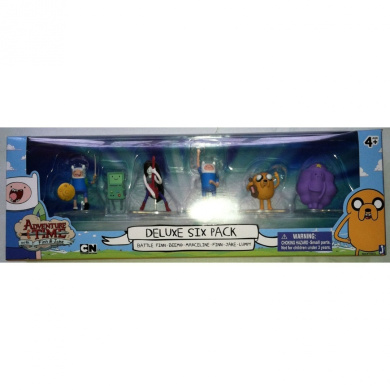 Adventure Time Deluxe 6 Pack 5.1cm Action Figure Set by ...