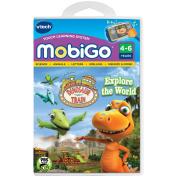 V Tech Mobigo Software Cartridge - Dinosaur Train