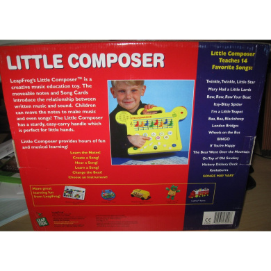 leap frog little composer electronic music maker by