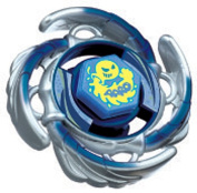 Beyblades JAPANESE Metal Fusion Battle Top PREMIUM RETURNS Booster #BB72 Aquario 105F