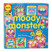 Alex Toys Moody Monsters Memory Game, Alex Little Hands Series