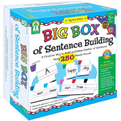 Carson Dellosa KE-840008 Big Box Of Sentence Building Game- Age 5 & up