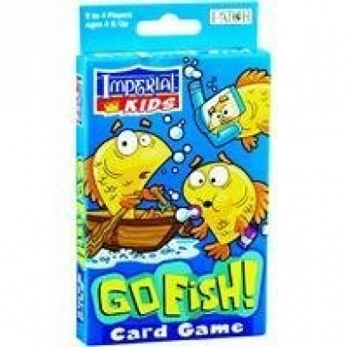 Imperial kids go fish card game by imperial kids go fish for Card game go fish