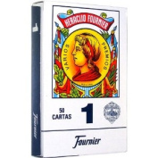 Fournier 1-50 Spanish Playing Cards