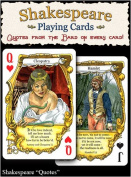 """Shakespeare """"Quotes"""" Playing Cards"""