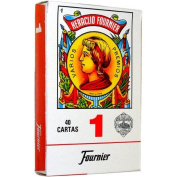 Fournier 1-40 Spanish Playing Cards