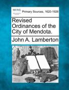 Revised Ordinances of the City of Mendota.