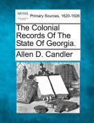 The Colonial Records of the State of Georgia.