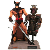 Figure - Wolverine - Brown Uniform - 10848 - Diamond select toys
