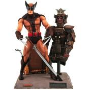 Figure - Wolverine - Brown Uniform - 10848 - Diamond select toys