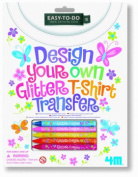 4M Miscellaneous Craft - Glitter Design Your Own T Shirt Transfer