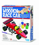 Paint Your Own - Paint Your Own Wooden Race No.04577 - Great Gizmos