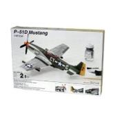 Testors Model Kit - P-51D Mustang Plane - 1:48 Scale - 590. New