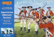 British Redcoats American History Figures Set by Imex