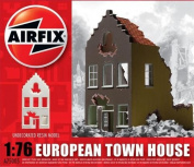 Airfix A75005 Belgian Ruin Town House 1:76 Scale Unpainted Resin Building