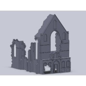 Airfix A75006 Belgian Ruin Church 1:76 Scale Unpainted Resin Building