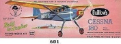 GUILLOW's Cessna 180 601 Powered Balsa Flying Model Kit