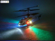 """(BLUE) New For 2011 4 ch Indoor Infrared Remote Control Helicopter """"DRIFT KING"""" with Gyroscope"""