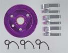 3-Piece Clutch & Flywheel, Purple