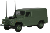 Oxford Diecast Military Land Rover Defender - 1/76 OO Scale Diecast Model