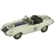 Oxford Diecast 76ETYP007 Jaguar E Type Open Top Scale 1:76
