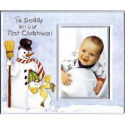 To Daddy on Our First Christmas - Picture Frame Gift