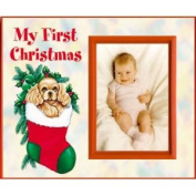 My First Christmas - puppy - Picture Frame Gift